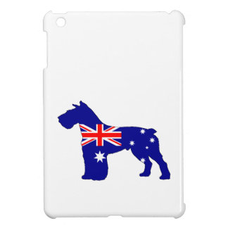 Australian Flag - Schnauzer Case For The iPad Mini
