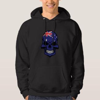 Australian Flag Skull Hoodie