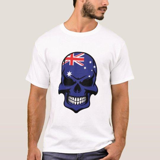 Australian Flag Skull T-Shirt