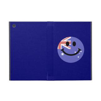 Australian flag smiley face case for iPad mini