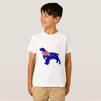 Australian Flag - Spaniel T-Shirt