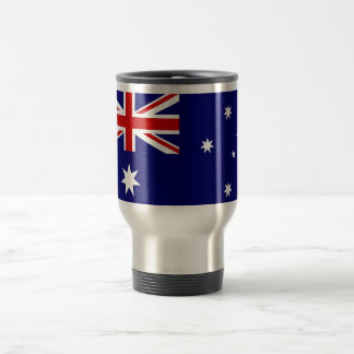 Australian flag Stainless Steel 15 oz Travel Mug