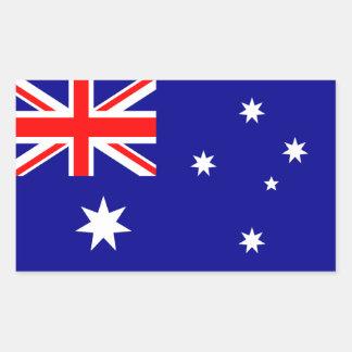 Australian Flag Rectangular Sticker