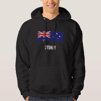 Australian Flag Sydney Skyline Hoodie