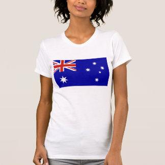 Australian flag t shirt