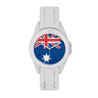 Australian Flag Wristwatch