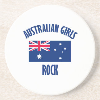 Australian girls  rock DESIGNS Coaster