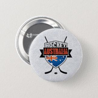 Australian Ice Hockey Flag Logo Badge