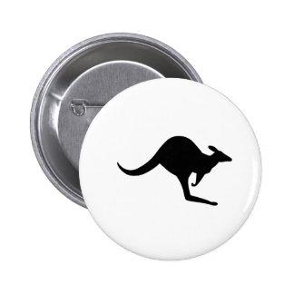 Australian Kangaroo 6 Cm Round Badge