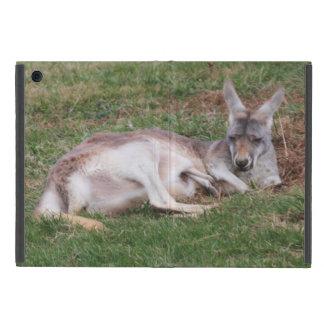 Australian Kangaroo and Baby Joey Wildlife Photo Covers For iPad Mini