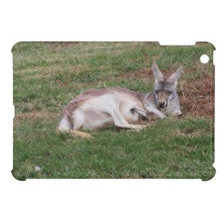 Australian Kangaroo and Baby Joey Wildlife Photo Cover For The iPad Mini