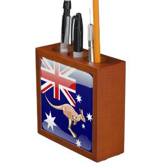Australian kangaroo desk organiser