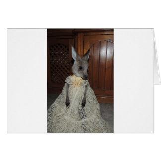 Australian Kangaroo Joey Card