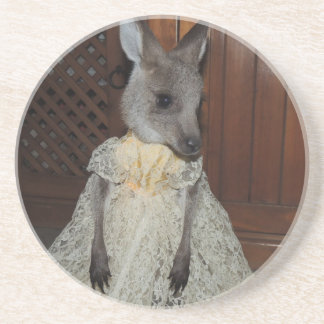 Australian Kangaroo Joey Coasters