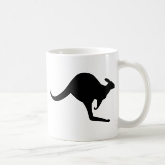 Australian Kangaroo Basic White Mug