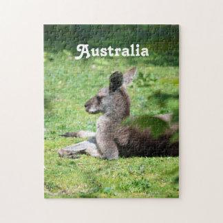 Australian Kangaroo Jigsaw Puzzles