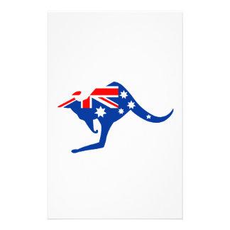 Australian Kangaroo Stationery Paper