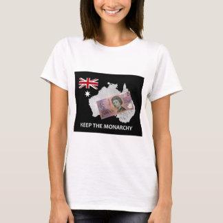 Australian Keep the Monarchy Logo T-Shirt