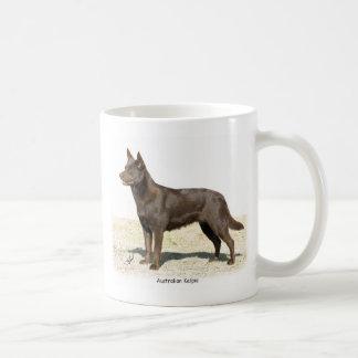 Australian Kelpie 9P21D-247 Coffee Mugs