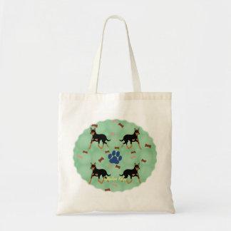 Australian Kelpie Budget Tote Bag