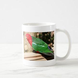 Australian King Parrot (red & green) Coffee Mug