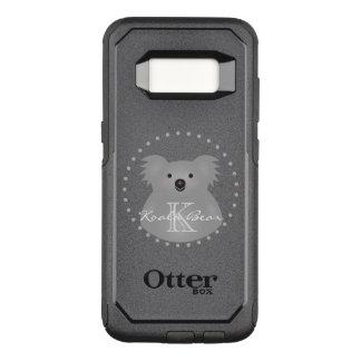Australian Koala Bear Cute Add Your Name Monogram OtterBox Commuter Samsung Galaxy S8 Case