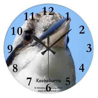 Australian Kookaburra Wall Clock