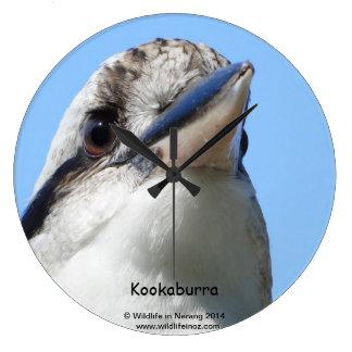 Australian Kookaburra Wallclock