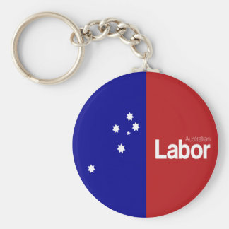 Australian Labor Party 2013 Basic Round Button Key Ring