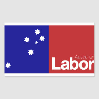 Australian Labor Party 2013 Rectangular Sticker