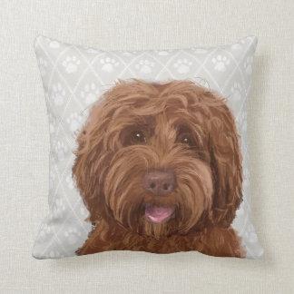 Australian Labradoodle / Goldendoodle Pillow