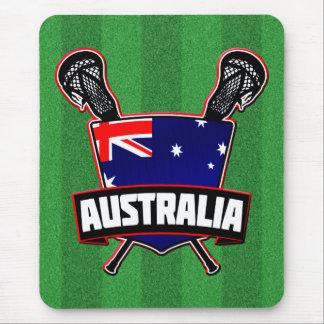 Australian Lacrosse Logo Mouse Pad