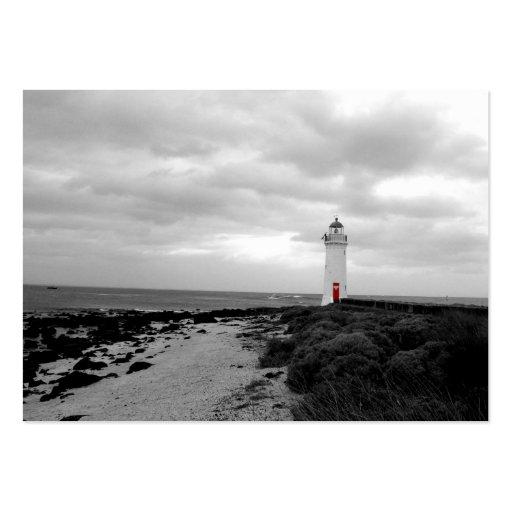 Australian Lighthouse Business Card Template