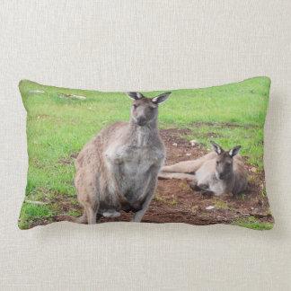 Australian Male Buck Kangaroo Lumbar Cushion. Lumbar Cushion
