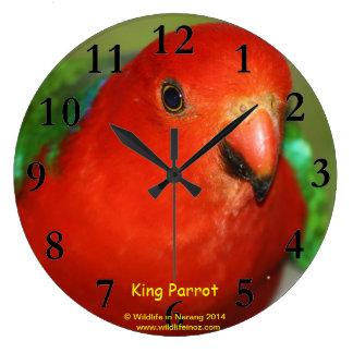Australian Male King Clock