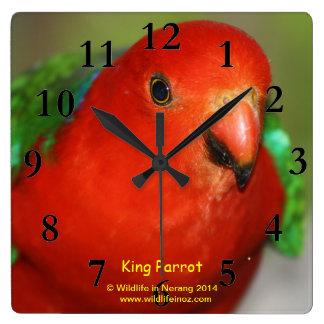 Australian Male King Wall Clocks