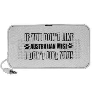 australian mist cat designs laptop speakers