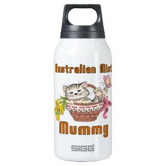Australian Mist Cat Mom Insulated Water Bottle