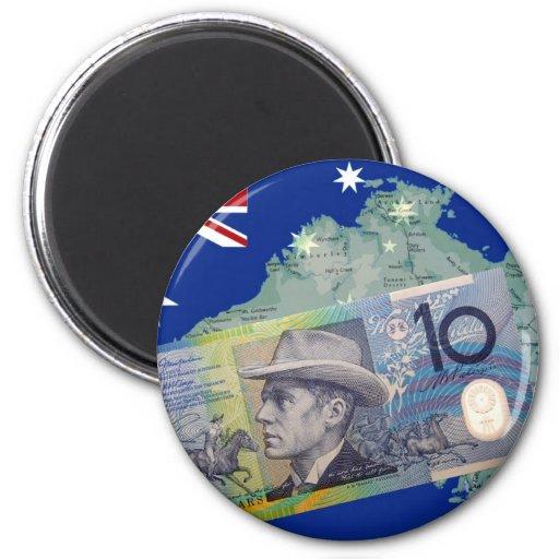 Australian Money & Flag Magnets