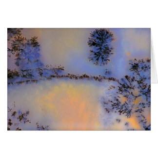 Australian Moss Agate Opus 2 Card