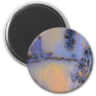 Australian Moss Agate Opus 2 Magnet