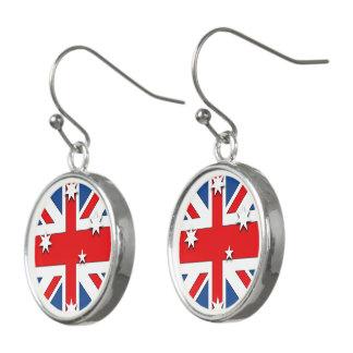 Australian National Flag Earrings