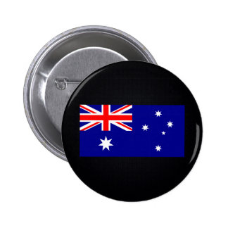 Australian National flag of Australia-01.png 6 Cm Round Badge