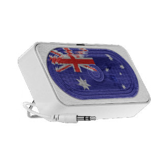 Australian National Flag Speaker On Doodle