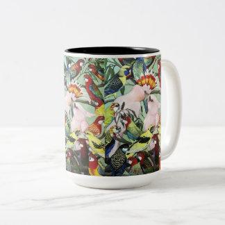 Australian Native Parrots Mug