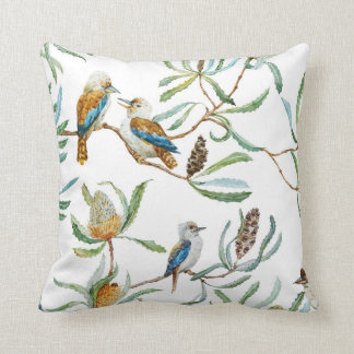 Australian nature pillow (White)