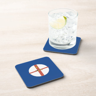 Australian New South Wales Flag Beverage Coasters