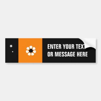 Australian Northern Territory Flag Bumper Sticker