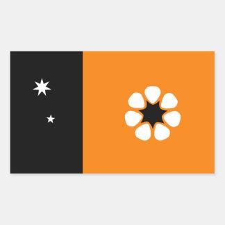 Australian Northern Territory Flag Rectangular Sticker
