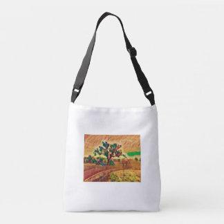 Australian Ochre Landscape Crossbody Bag